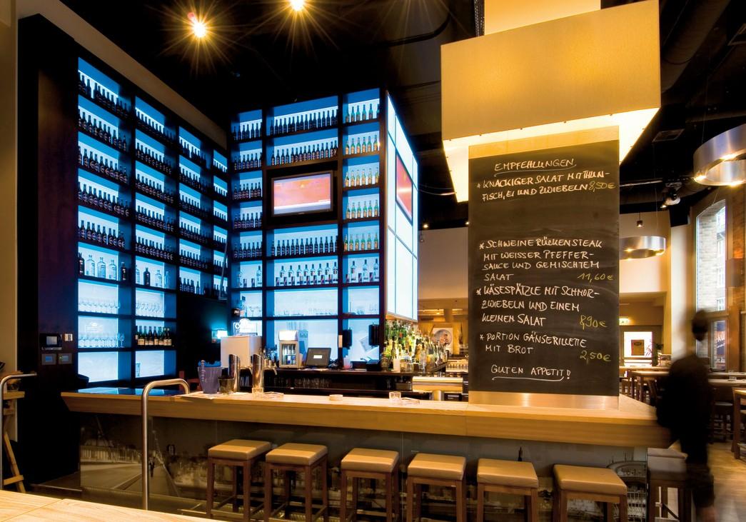 Caffee Bar stylisch LED Licht